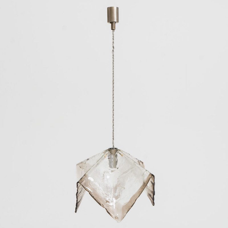 1960s Italian chandelier attributed to Mazzega