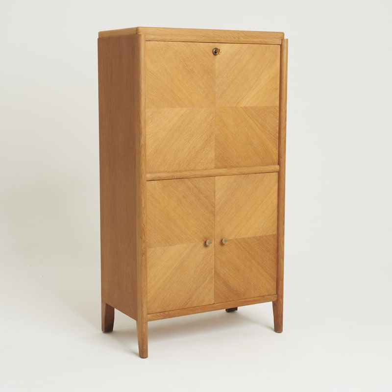 1940s Oak Secrataire