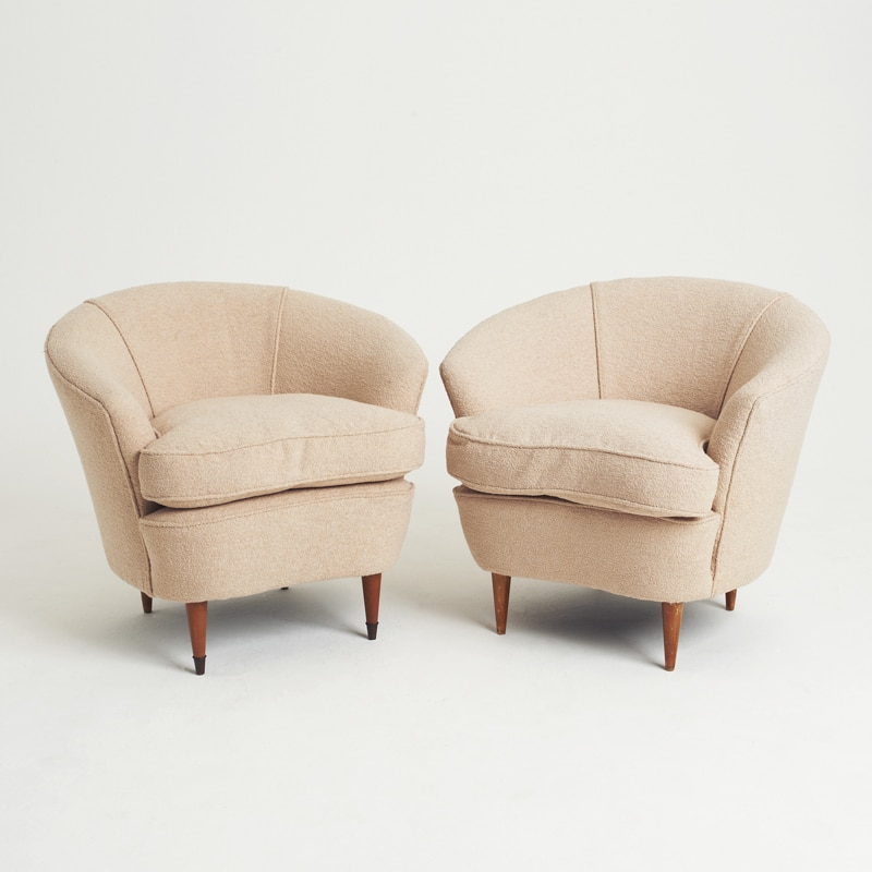 1940s Pair of Armchairs