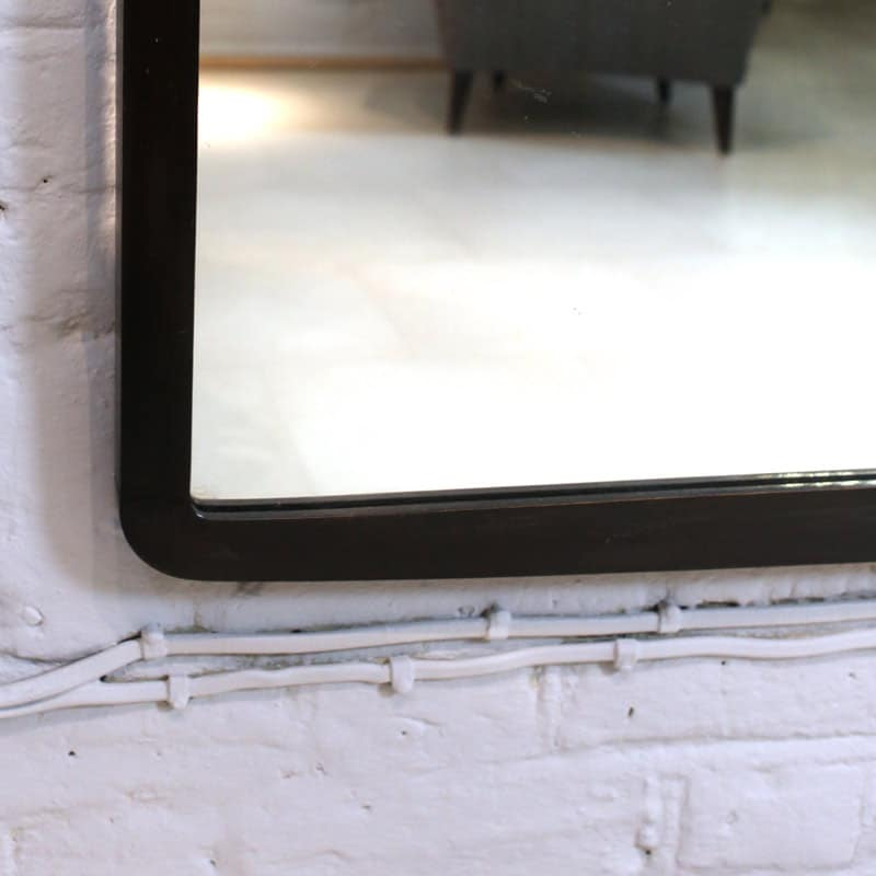 1950s ebonised mirror