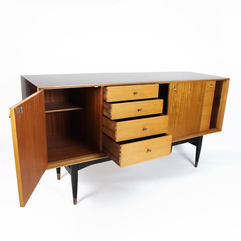 1950s English Ash sideboard