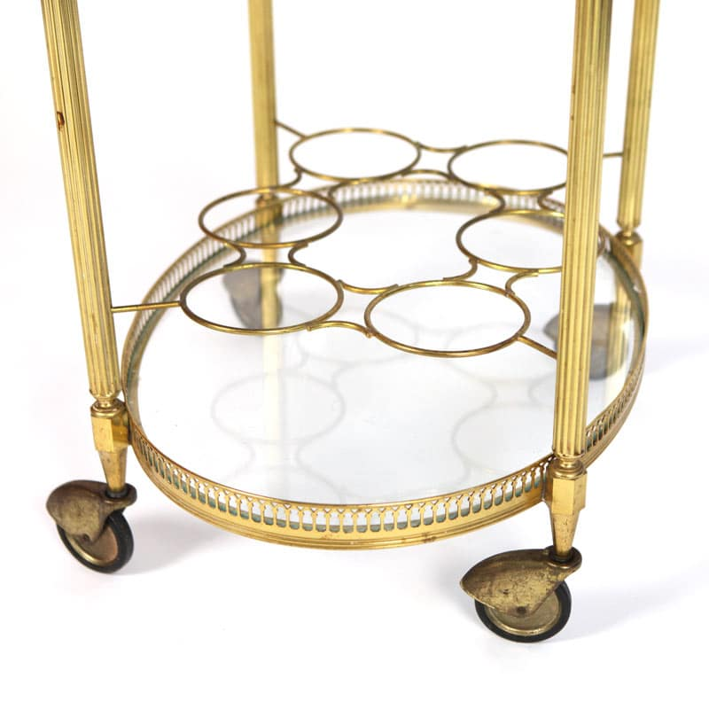 1950s French drinks trolley