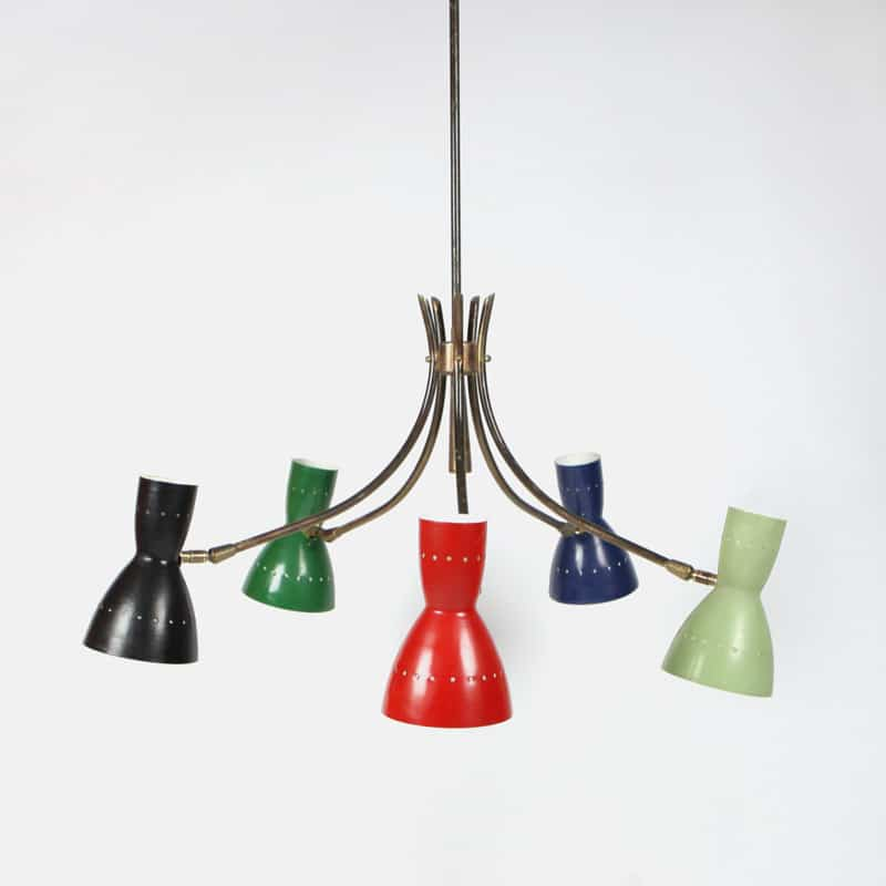 1950s Italian light fitting