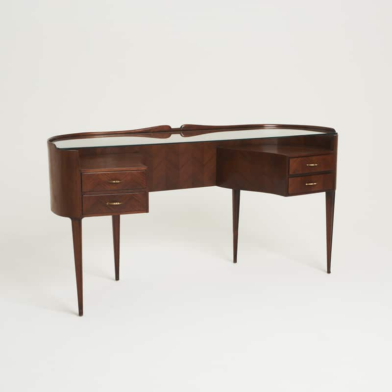 1950s Italian rosewood dressing table