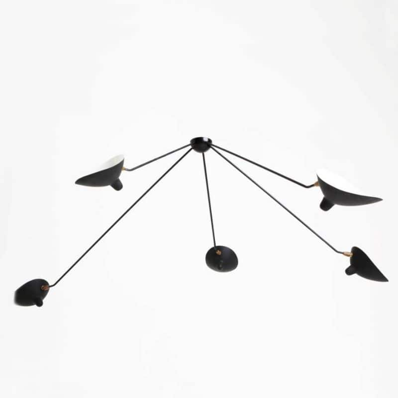 1950s Italian Wall Light attrib to Serge Mouille