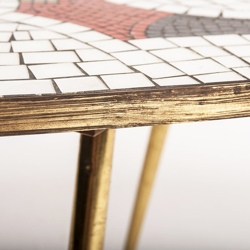 1950s mosaic table
