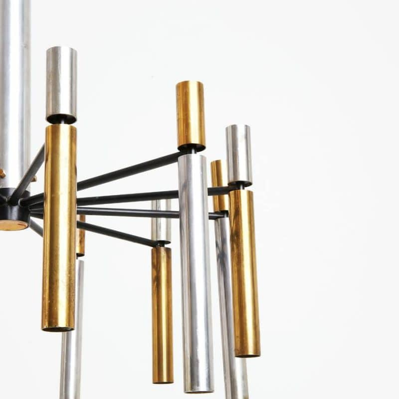 1960s Italian chandelier attributed to Stilnovo