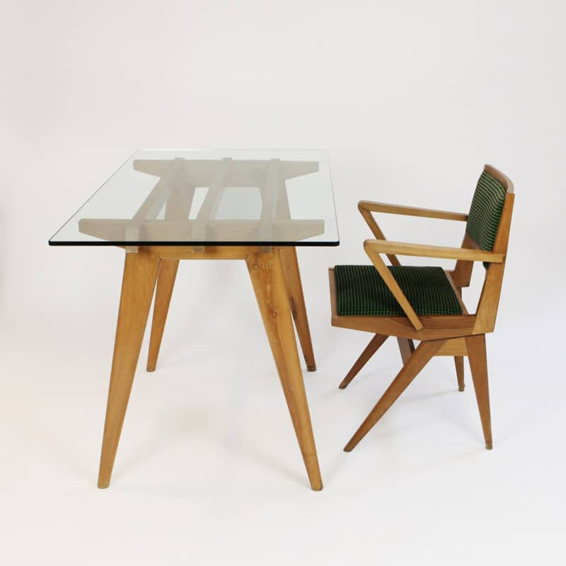 1960s Italian desk and chair