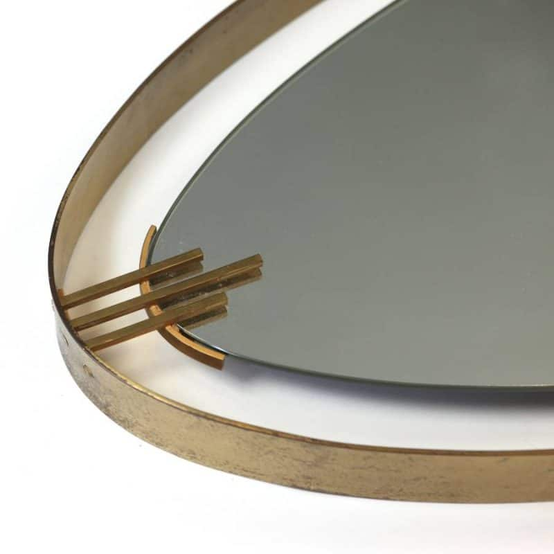 1960s Italian mirror attributed to Fontana Arte