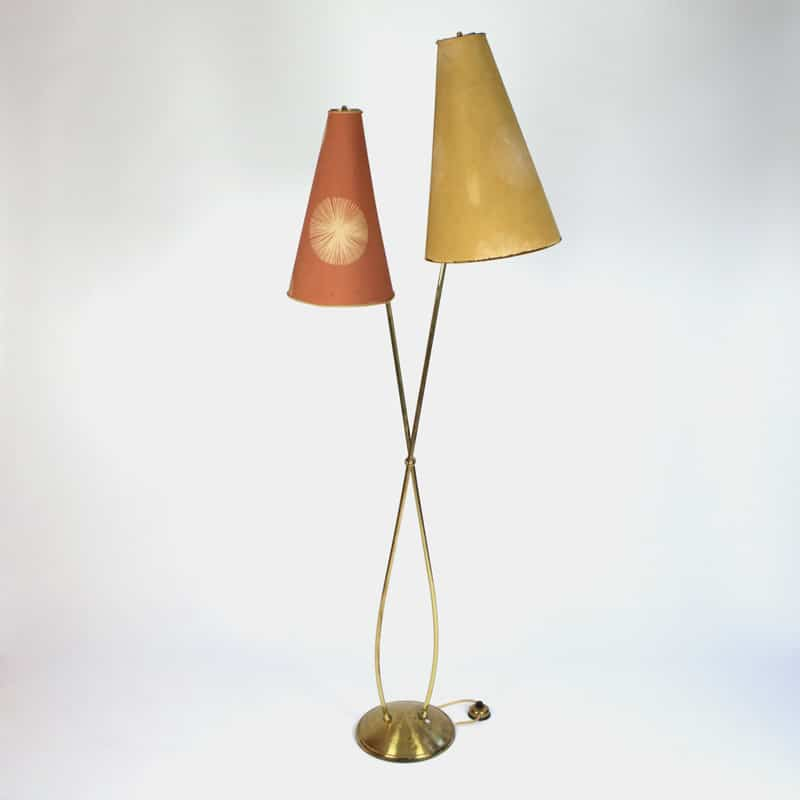 1970s French floor lamp