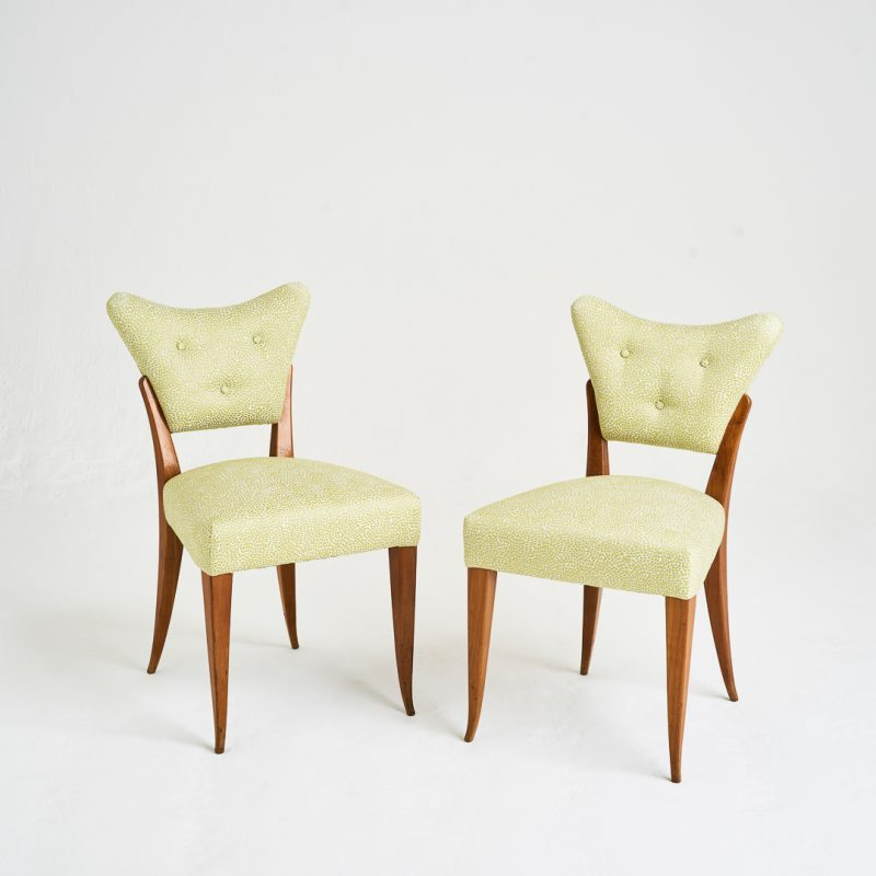 Pair of 1940s Italian chairs