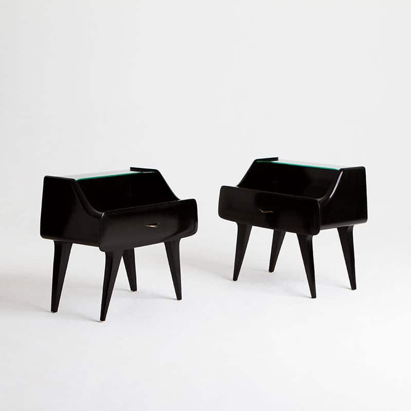 Pair 1960s Italian Bedsides
