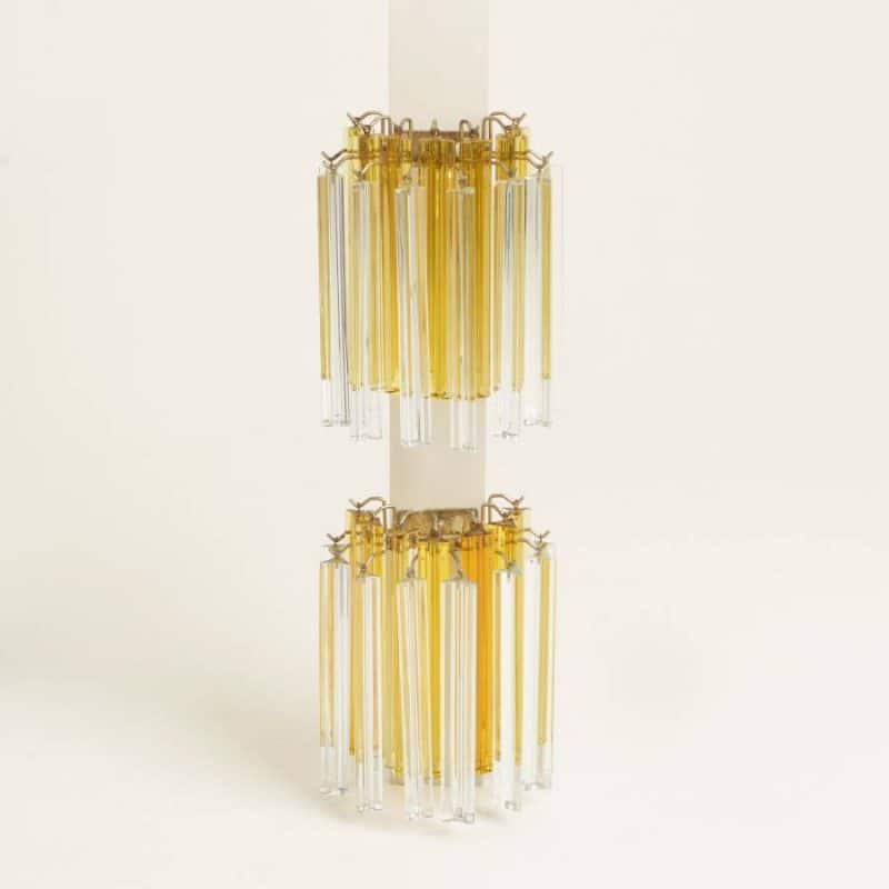 Pair 1960s Venini Wall Lights