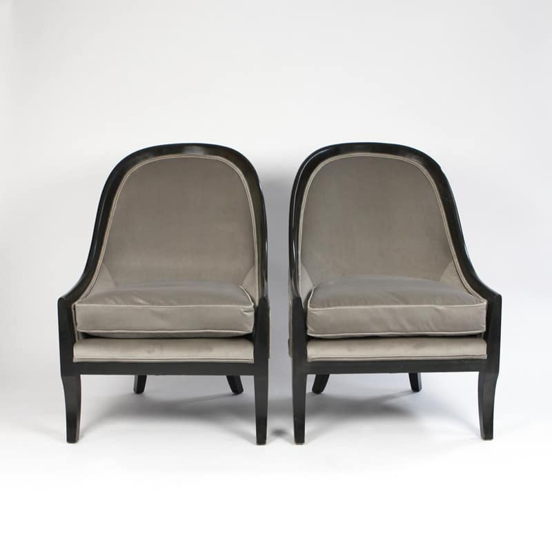 Pair of 1940s French chairs