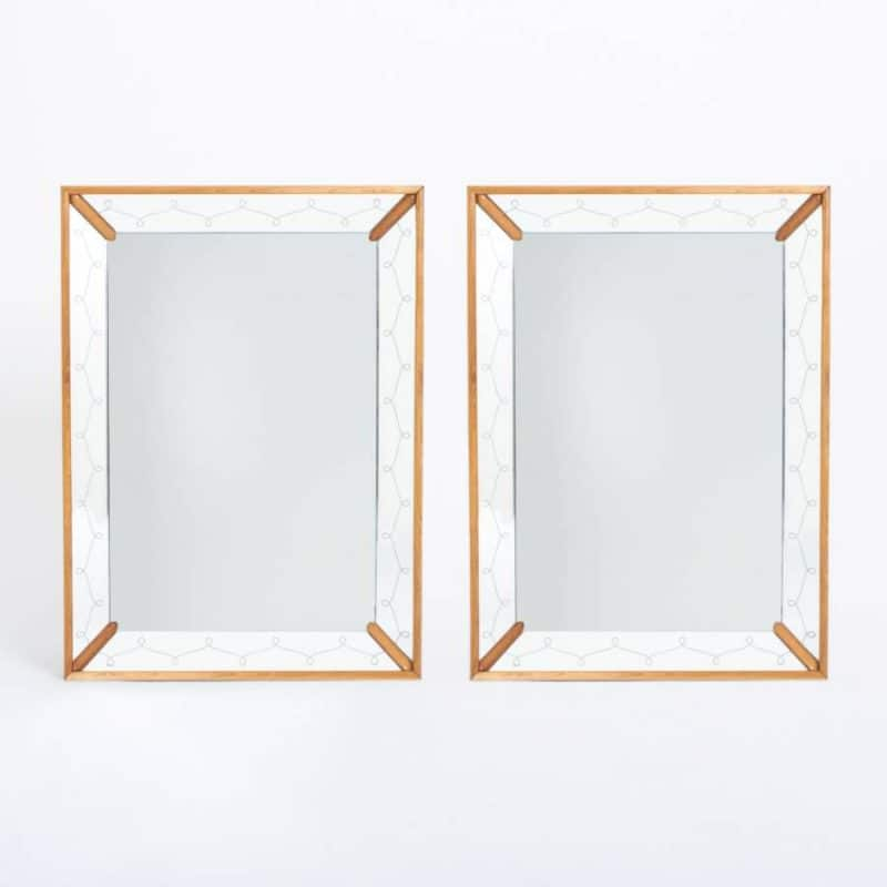 Pair of 1940s Italian Mirrors