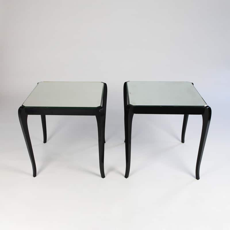 Pair of 1950s French side tables