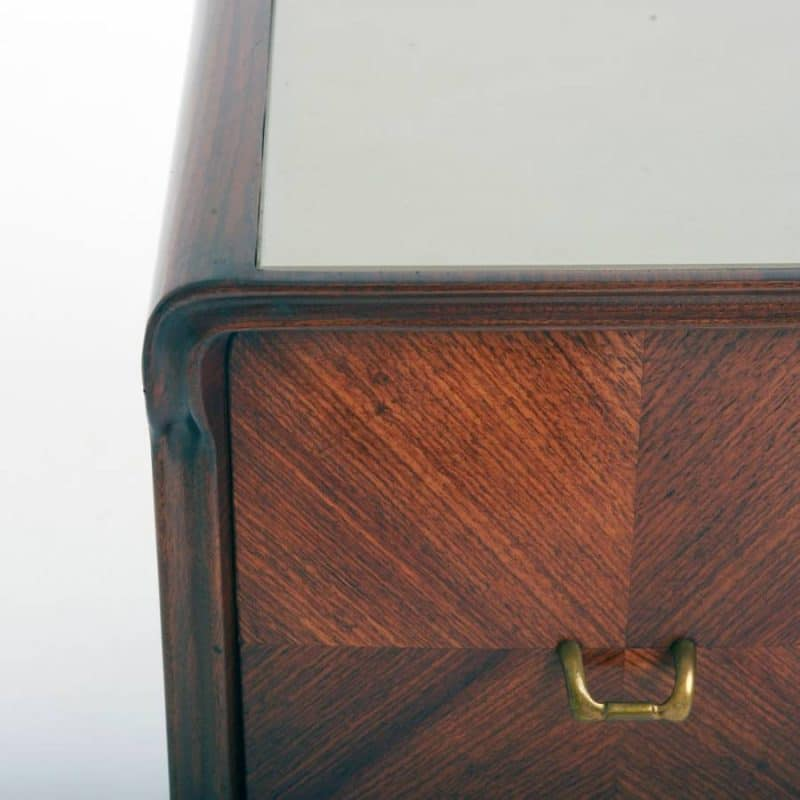 Pair of 1950s Italian Bedside Cabinets