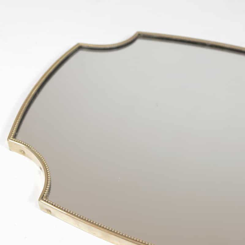 Pair of 1950s Italian mirrors