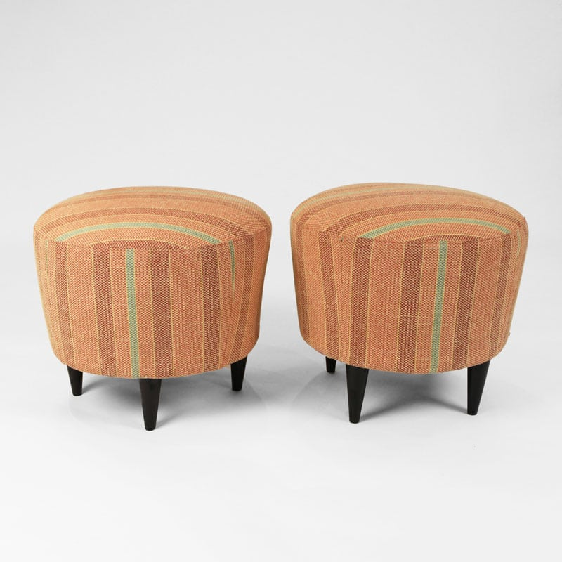 Pair of 1950s Italian stools