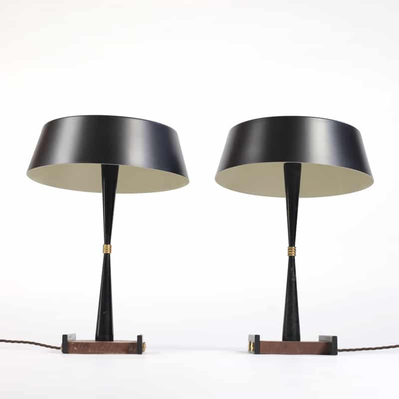 Pair of 1950s Italian table lamps