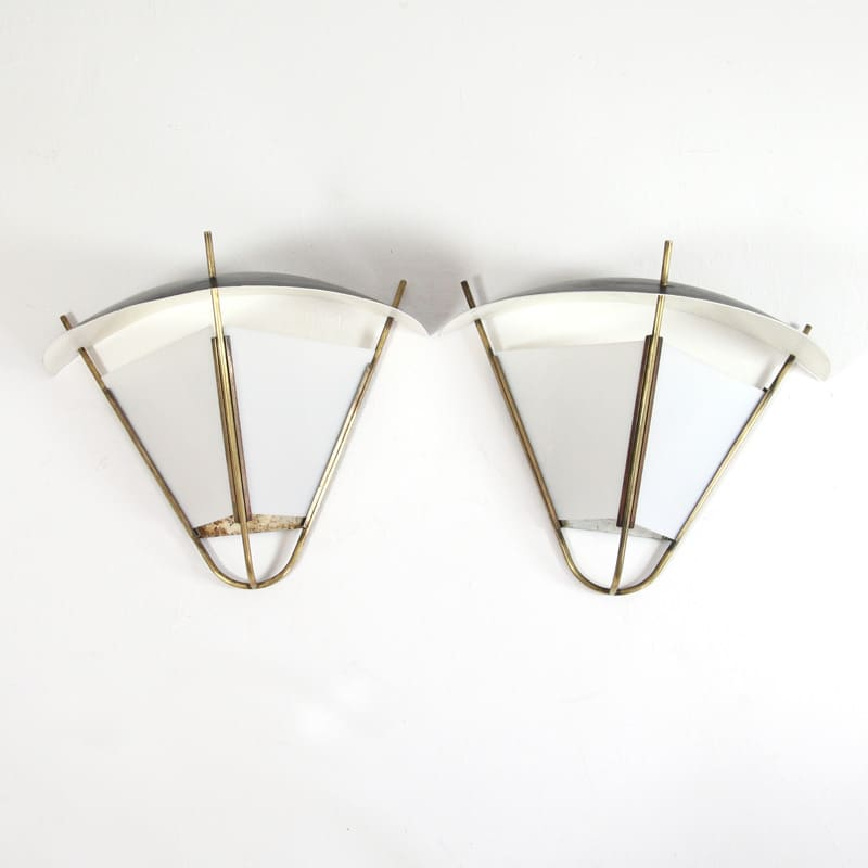 Pair of 1950's Italian Wall Lights