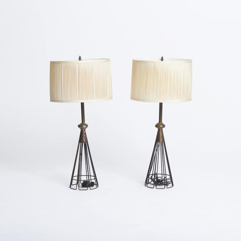 Pair of 1950s Lamps