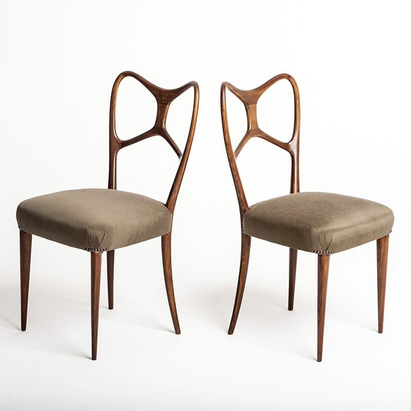 Pair of 1950s occasional chairs