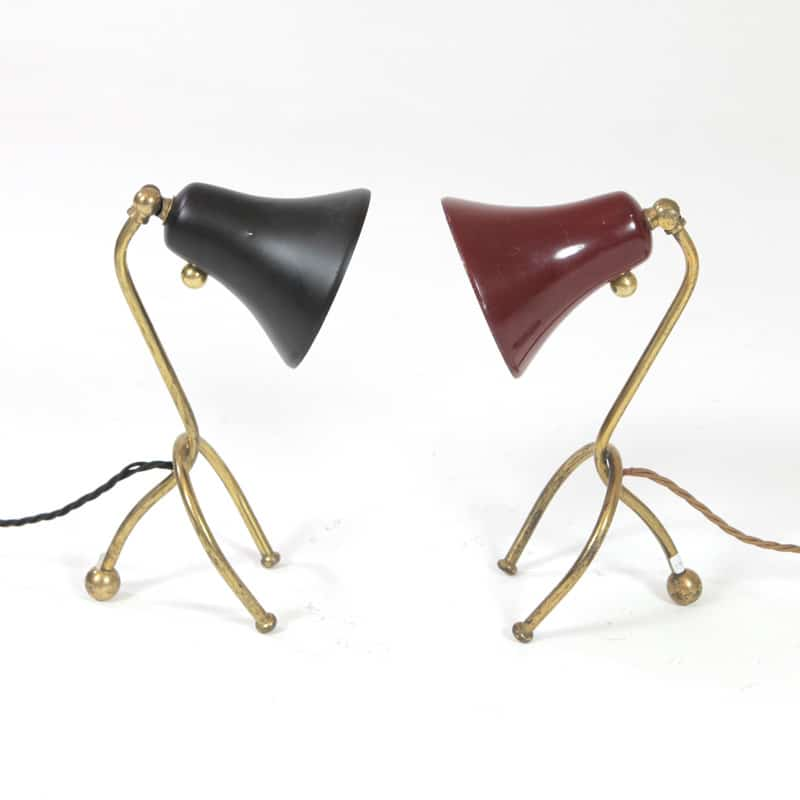 Pair of 1960 Italian lamps