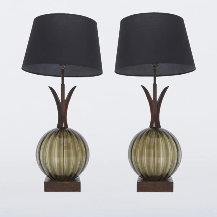 Pair of 1960s American Lamp Bases