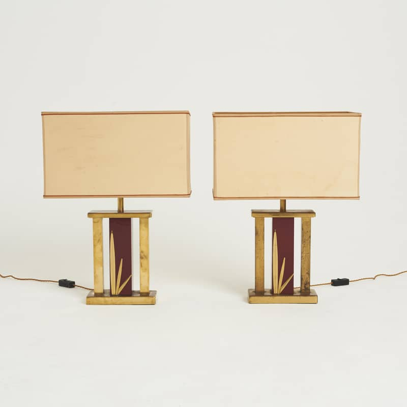 Pair of 1960s French Lamps
