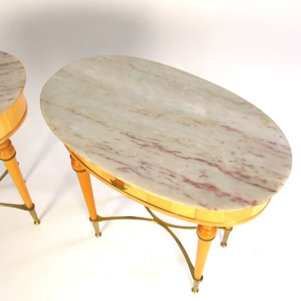 Pair of 1960s Italian bedside tables