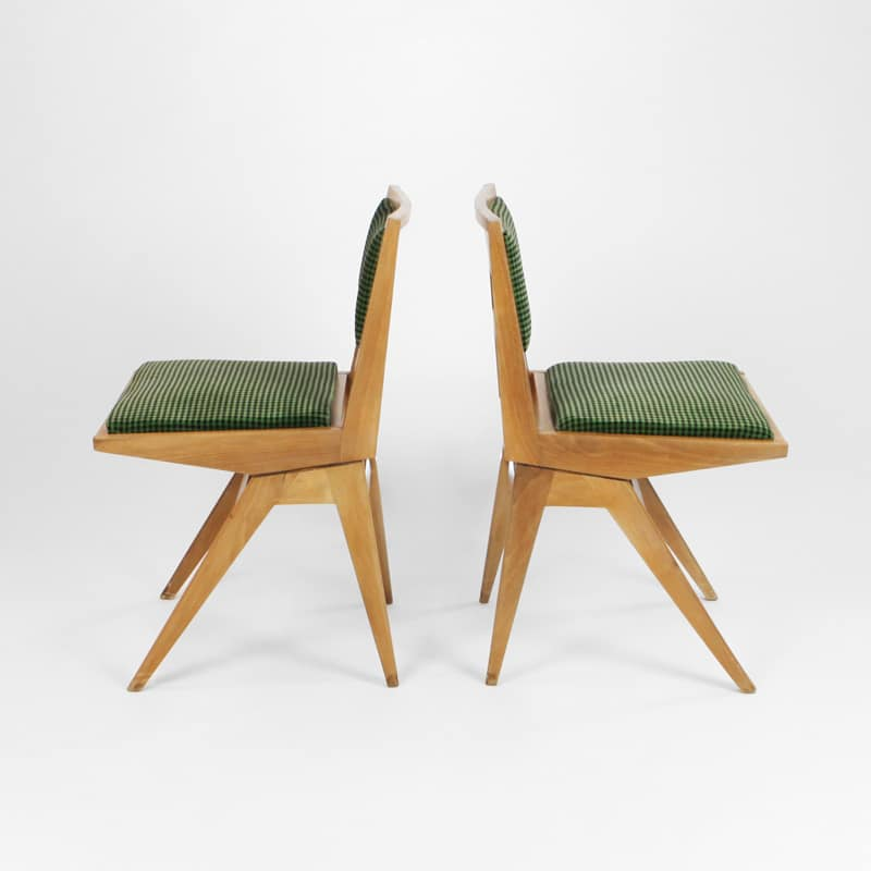 Pair of 1960s Italian chairs