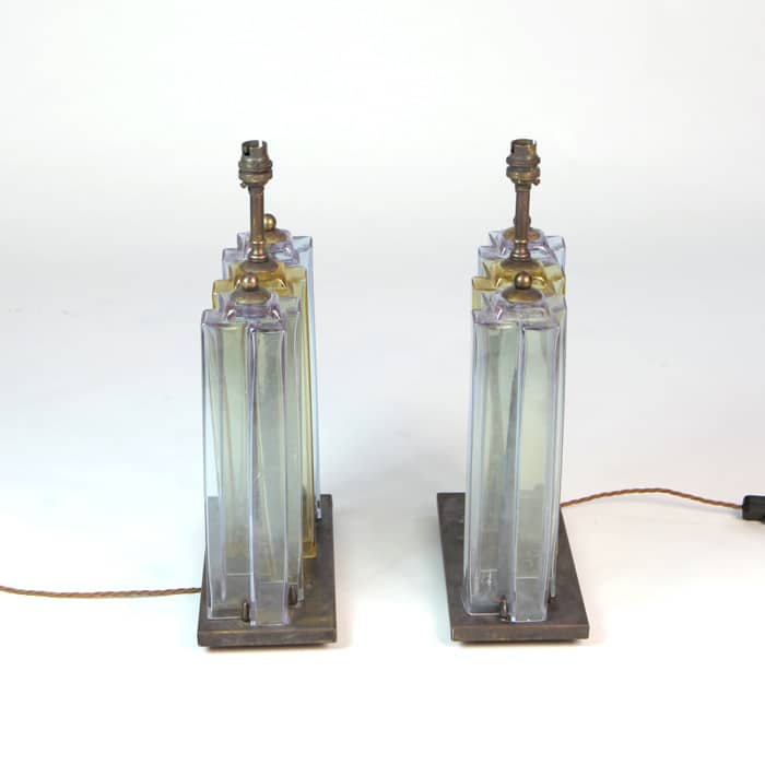 Pair of 1960s Italian table lamps