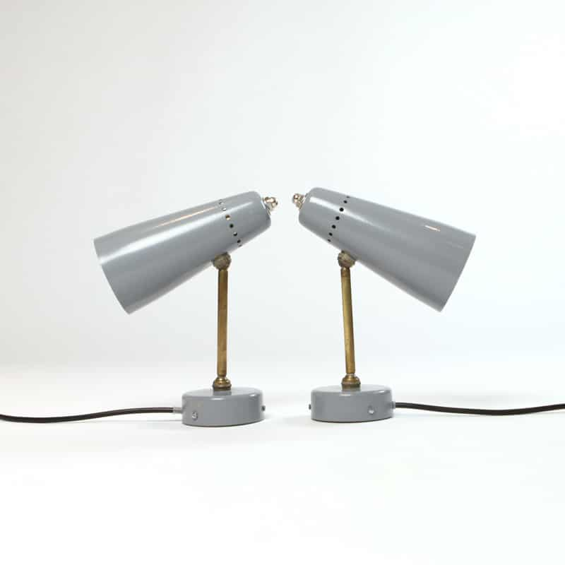 Pair of 1960s Italian wall lights