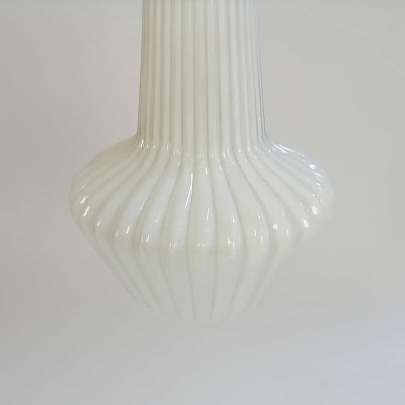 Pair of 1960s Italin glass light fittings