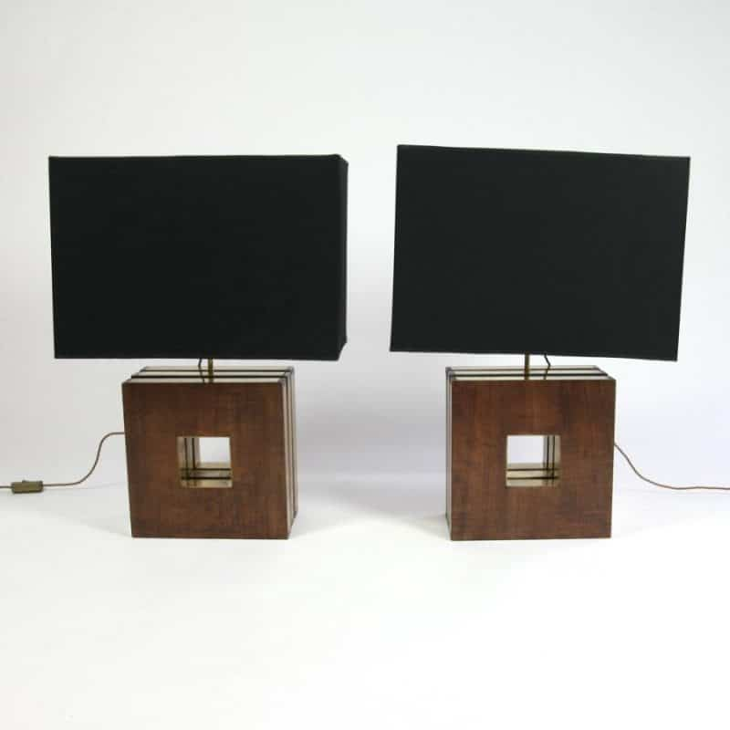Pair of 1970s Italian Lamps Designed By Carla Venosta