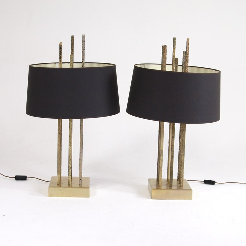 Pair of 1970's Italian Table Lights