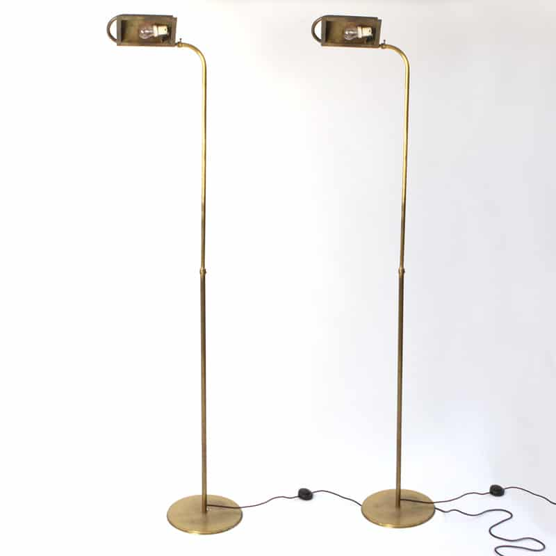 Pair of 1980s Italian floor lamps