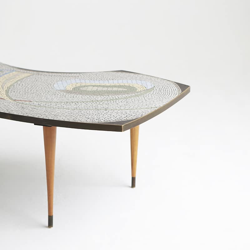 1950s German table attrib Berthold Müller