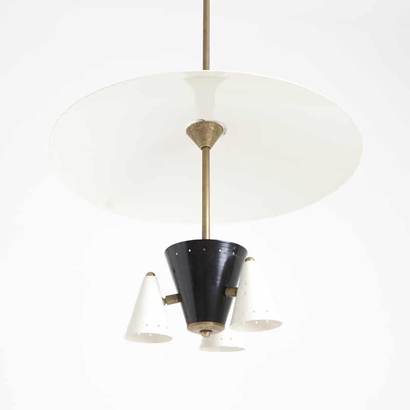 1960s Italian ceiling light