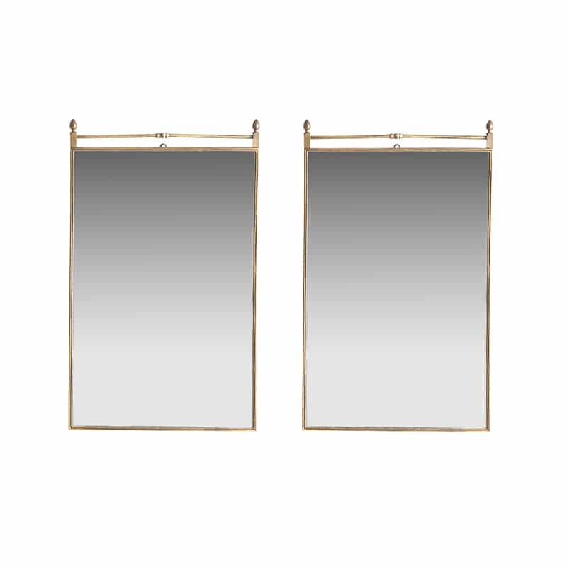 Pair of 1950s Italian mirror