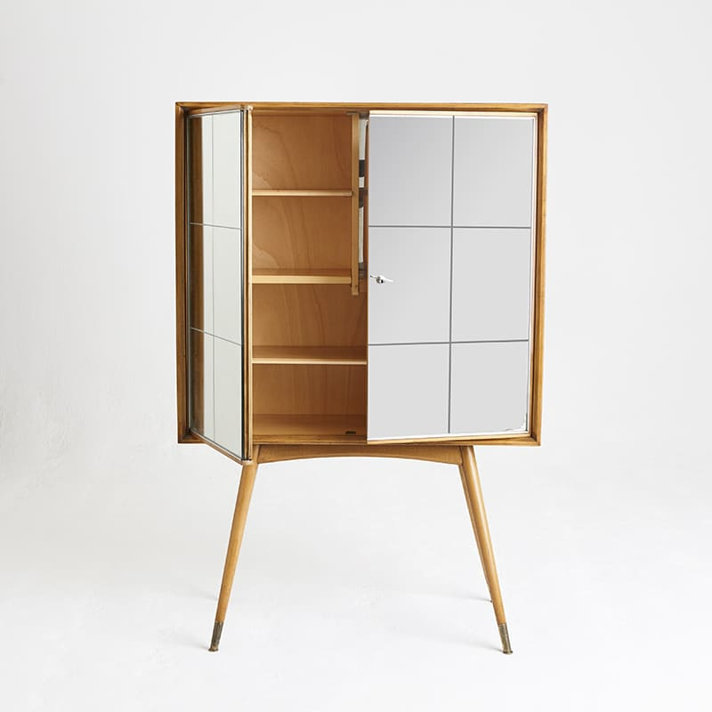 1960s French drinks cabinet