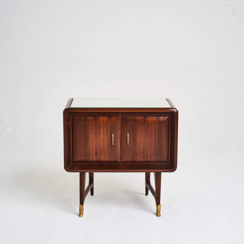 Pair 1950s Italian bedside tables