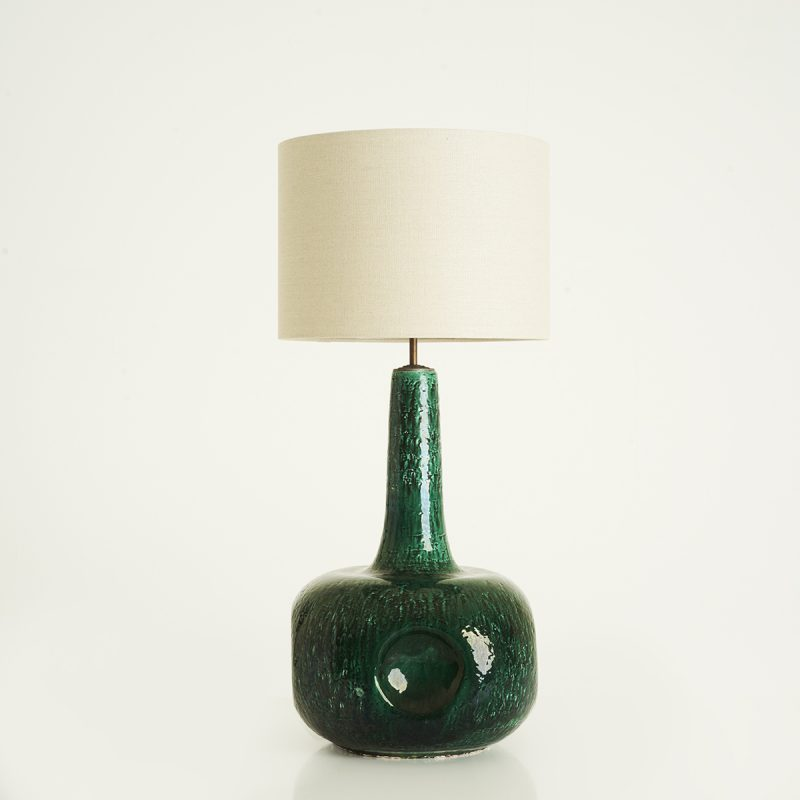 1960s German ceramic lamp