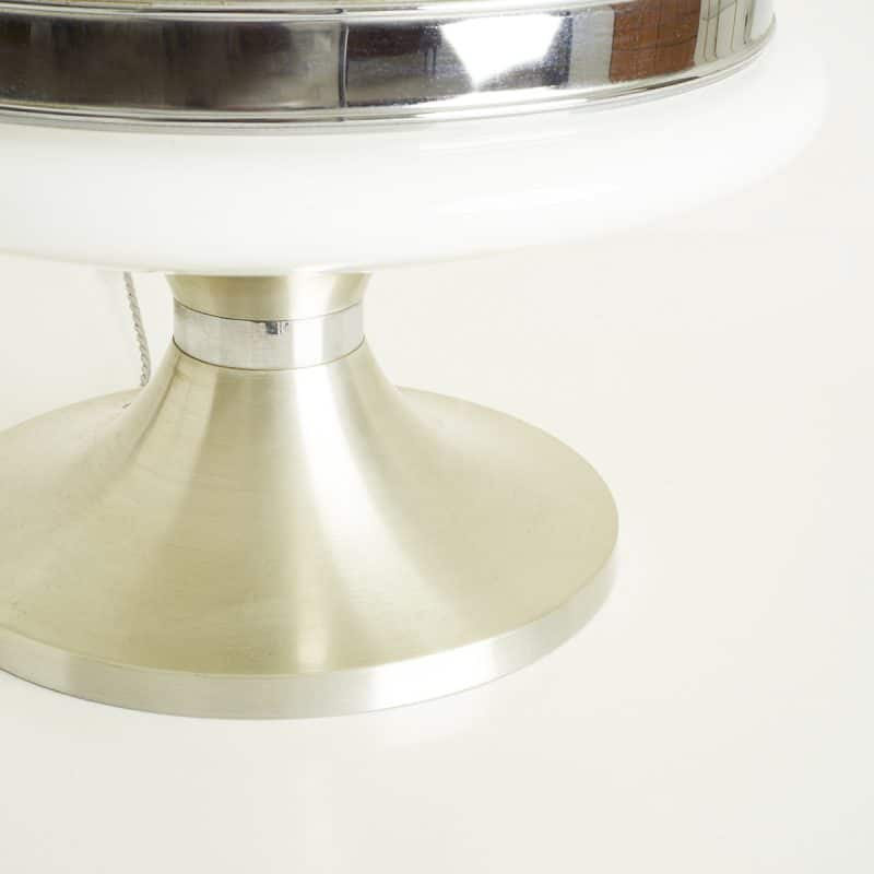 1960s Italian glass lamp