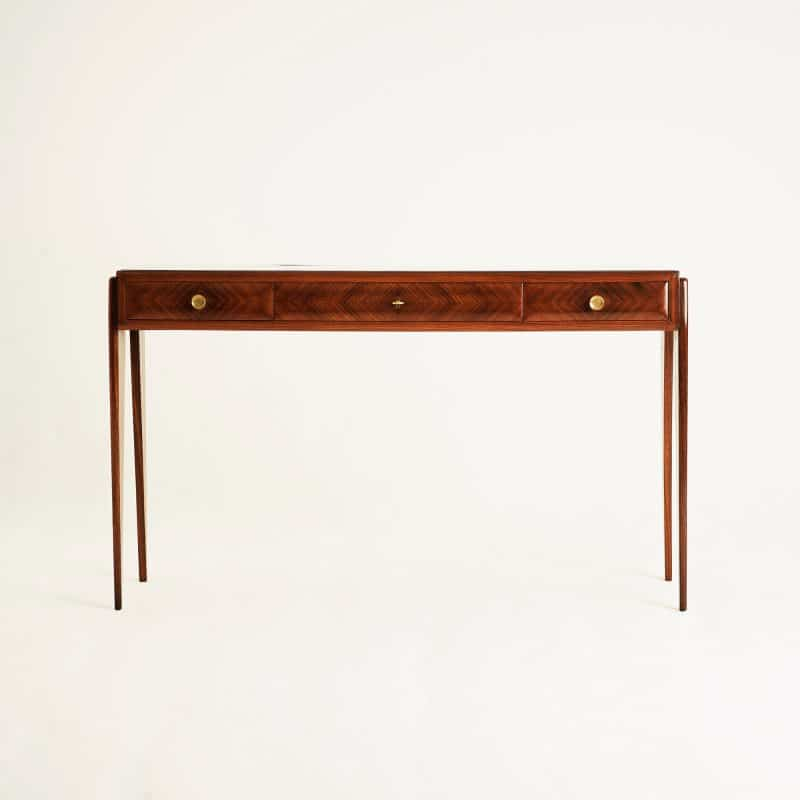 1950s Italian rosewood console