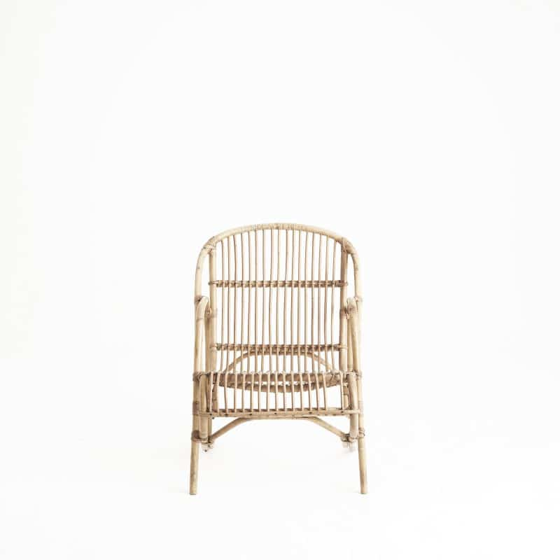 Pair of 1960s Italian rattan chairs