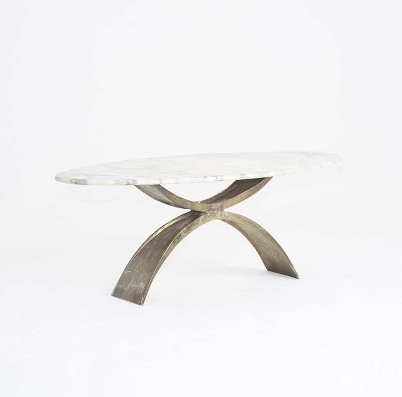 1960s Italian marble coffee table