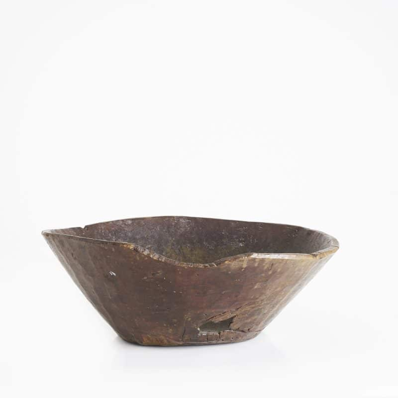 19th Century Afghan wooden bowl