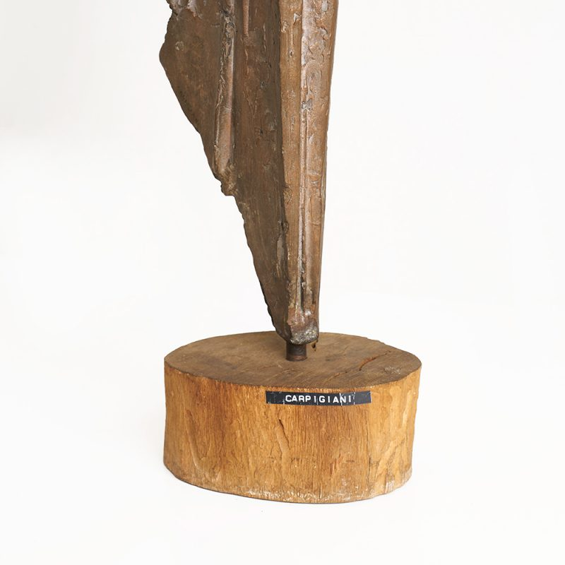 1950s Italian bronze sculpture by Carpigiani